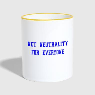 Net Neutrality for everyone - Contrasting Mug