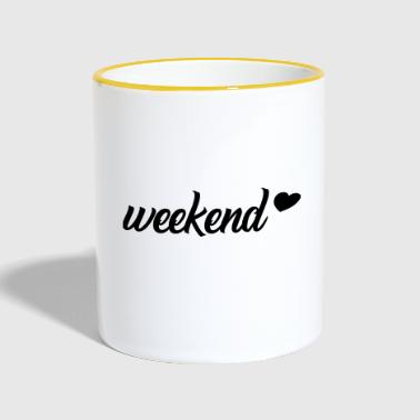 weekend - Mug contrasté