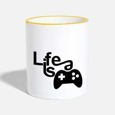 Life is a Game 2018 - Tasse zweifarbig