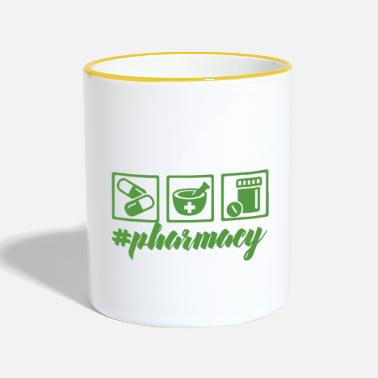 Pharmacy Pharmacy / Pharmacist: #pharmacy - Contrasting Mug