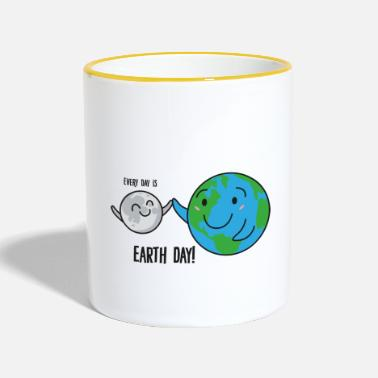 Earth Day Earth Day / Earth Day: Every Day Is Earth Day! - Contrasting Mug