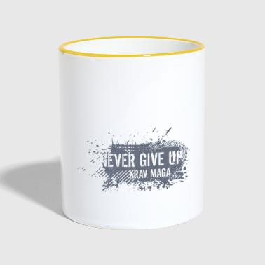 never give up - Tazze bicolor