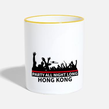 Dj HONG KONG - Party All Night Long - Tazze bicolor