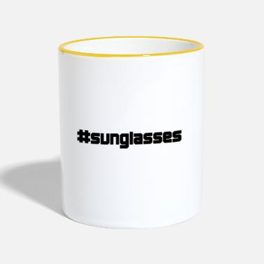 Sunglasses sunglasses sunglasses - Contrasting Mug
