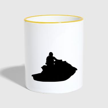 Watercraft Jetboat Water Sports - Contrasting Mug