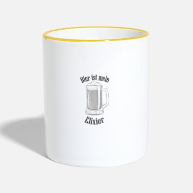 Elixir Beer is my elixir - Two-Tone Mug
