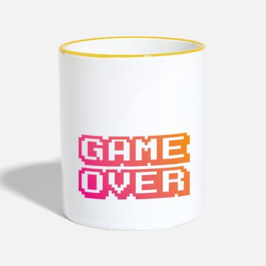 Game Over Game Over - Taza en dos colores