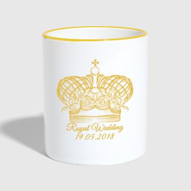 Royal Wedding. 19.05.2018. Windsor. Prezenty koronne - Kubek dwukolorowy