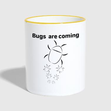 Bugs are coming - Taza en dos colores