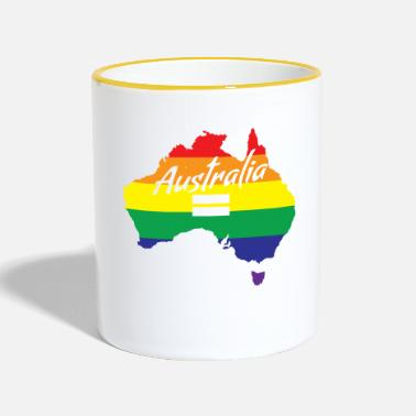 Marriage Equality Vote Yes-Australia Marriage Equality - Two-Tone Mug