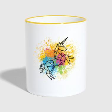Unicorn graphic - Contrasting Mug