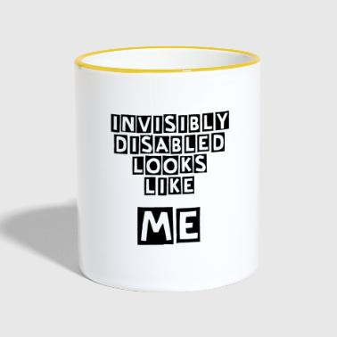 Invisibly Disabled - Contrasting Mug