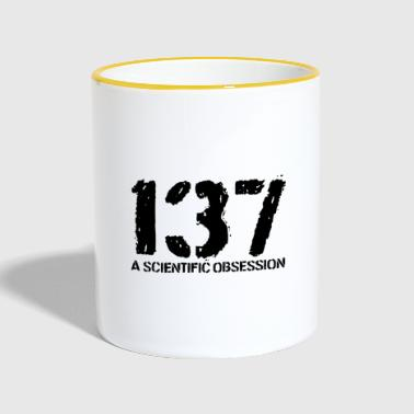 137 A Scientific Obsession - Contrasting Mug