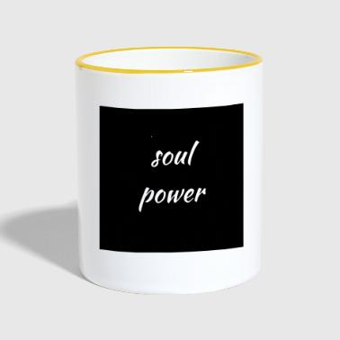 The power of the soul - Contrasting Mug
