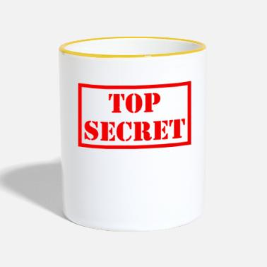Agent Secret Top secret - Mug contrasté