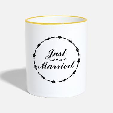 Just just married - Tazze bicolor