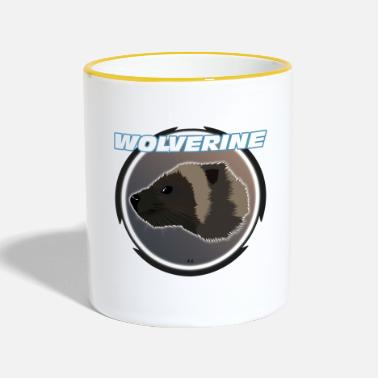 Wolverines Wolverine - Two-Tone Mug