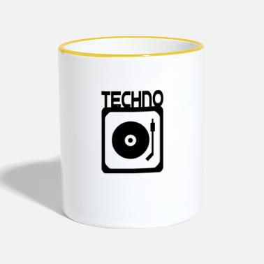 Turntable Record Magic vinyl DJ Techno Turntable - Taza en dos colores