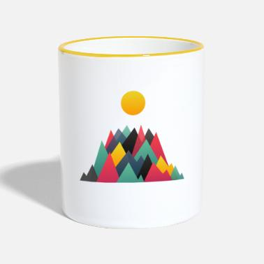 Nature Collection Mountains - Contrasting Mug