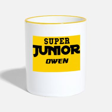 Sjø SJO Big DF Text - Two-Tone Mug