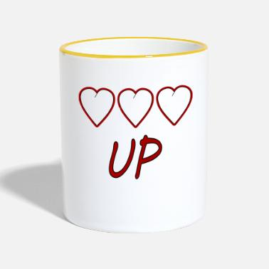 Up UP - Mug bicolore