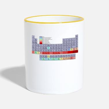 Periodic Table periodic table - Contrasting Mug
