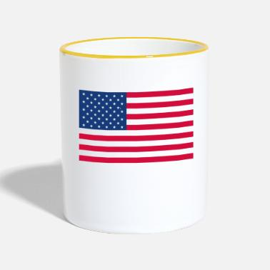 Stars And Stripes Stars and Stripes - Two-Tone Mug