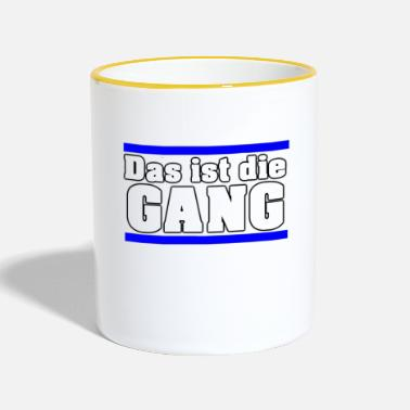 Gang Dat is de GANG - Mok tweekleurig