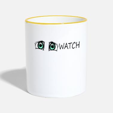Watch Watch - Two-Tone Mug