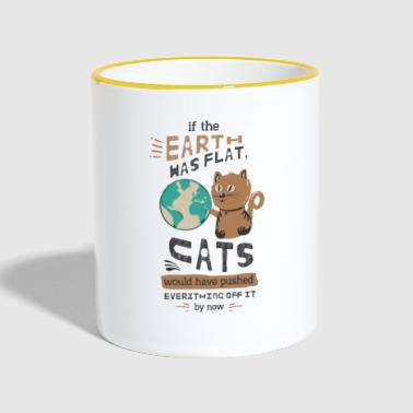 IF THE EARTH WAS LOCATED - Contrasting Mug