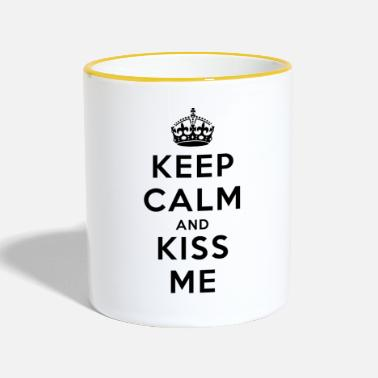 Keep Calm oQoqjsEr6Hp6_diseno - Tazze bicolor