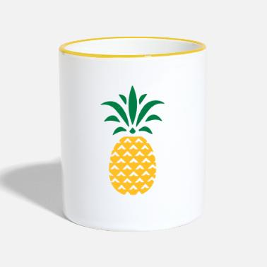 Stylish PINEAPPLE STYLISH - Mok tweekleurig