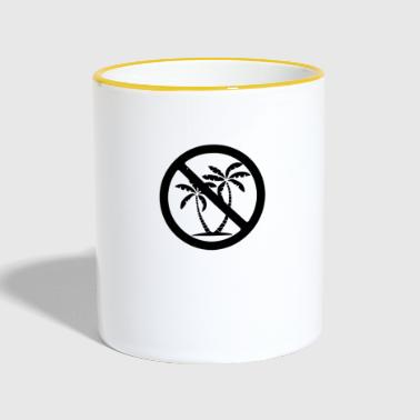 no palm oil - Contrasting Mug