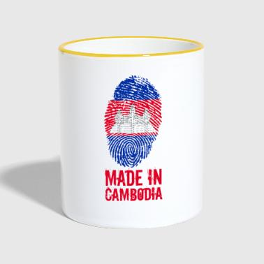 Made In Cambodge / Cambodge - Mug contrasté