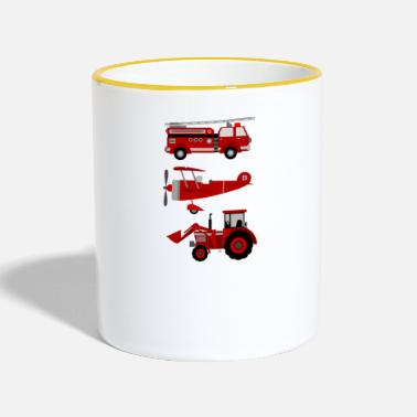 Vehicle vehicles - Contrasting Mug