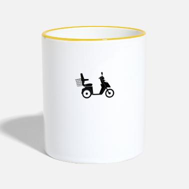 Scooter Scooter - Taza en dos colores