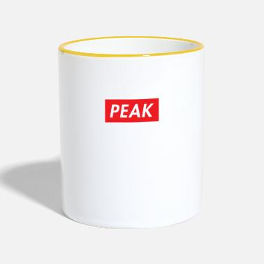 Peak Peak Logo - Two-Tone Mug