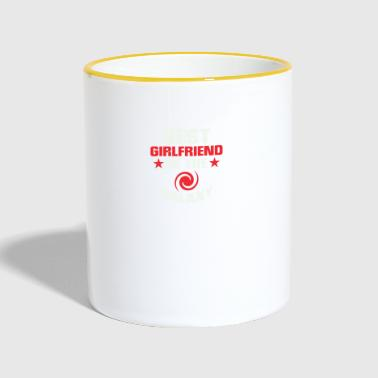 Girlfriend Boyfriend Shirtno31 - Tasse zweifarbig