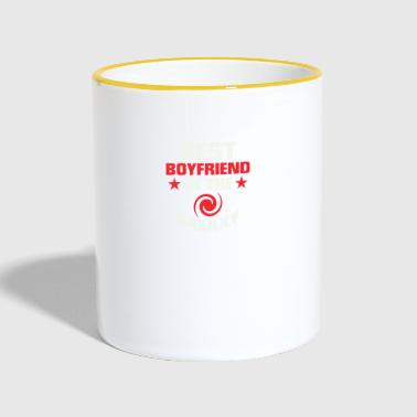 Girlfriend Boyfriend Shirtno32 - Tasse zweifarbig