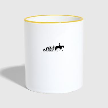 Dressage Evolution - Contrasting Mug