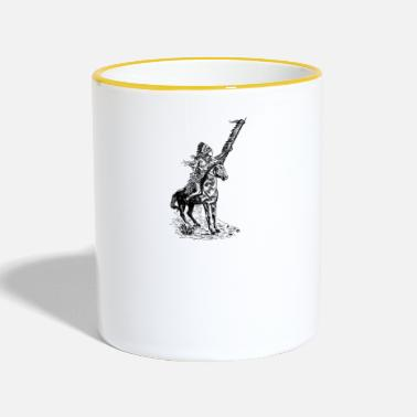 Indian Indianer - Tasse zweifarbig