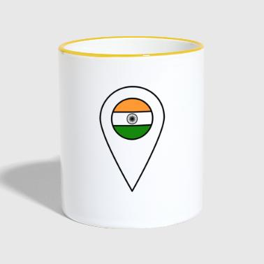India - Tofarget kopp