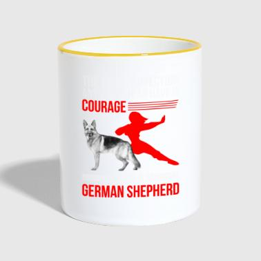 German Shepherd - German Shepherd - Poison - Contrasting Mug