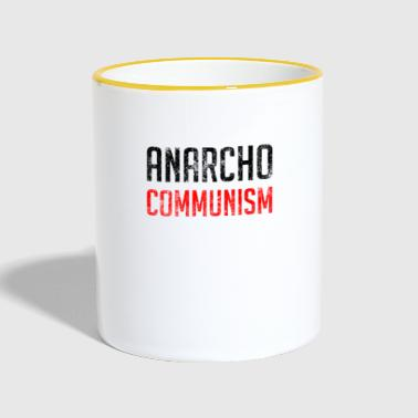 Anarcho Communism - Mok tweekleurig