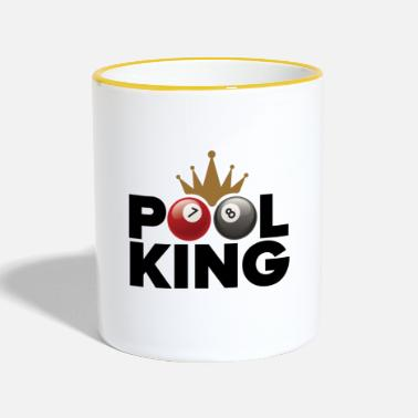 Pool Pool king - Mug contrasté