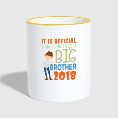 I Am Going To Be A Big Brother 2018 | Is Official - Contrasting Mug