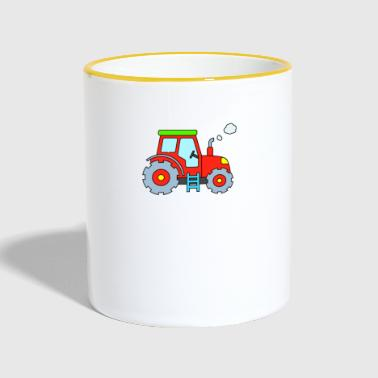 Tractor - Red Tractor - Tractor - Contrasting Mug