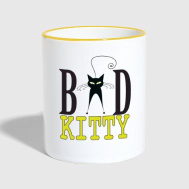 Bad Kitty - Bad Kitty - Contrasting Mug