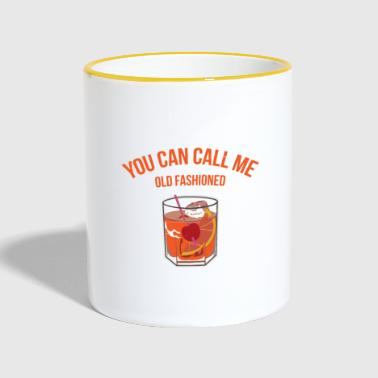 old fashioned whiskey - Contrasting Mug