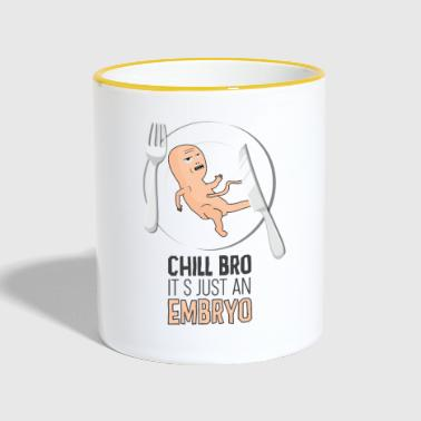 Black humor provocative - Contrasting Mug
